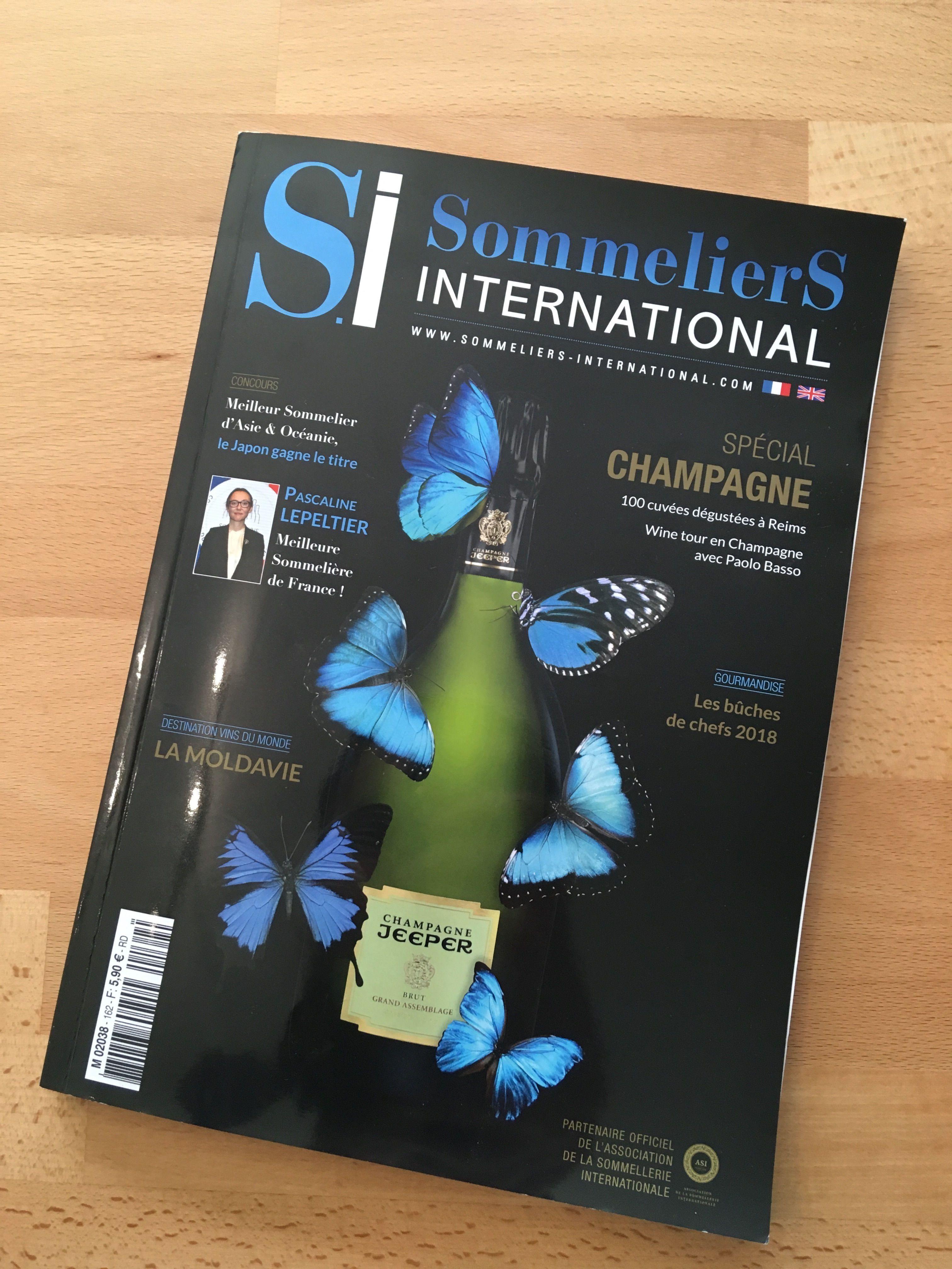 La Vodka Nadé en interview pour Sommeliers International !