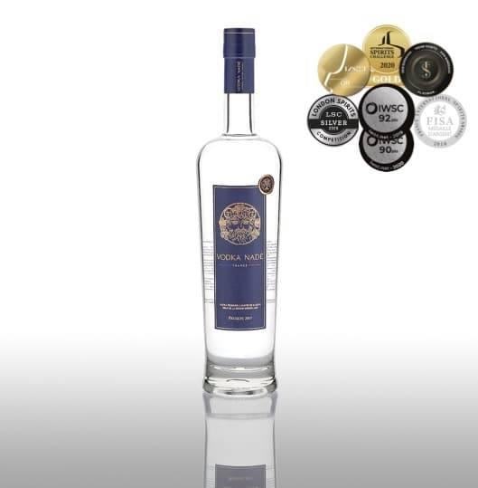 Septième médaille pour la Vodka Nadé Récolte 2017